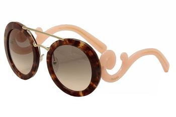 Prada Women's SPR 13S 13/S Round Fashion Sunglasses  UPC: