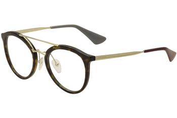 Prada Women's Eyeglasses VPR15T VPR/15T Full Rim Optical Frame