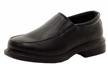 French Toast Boy's Matt School Uniform Slip-On Loafers Shoes UPC: