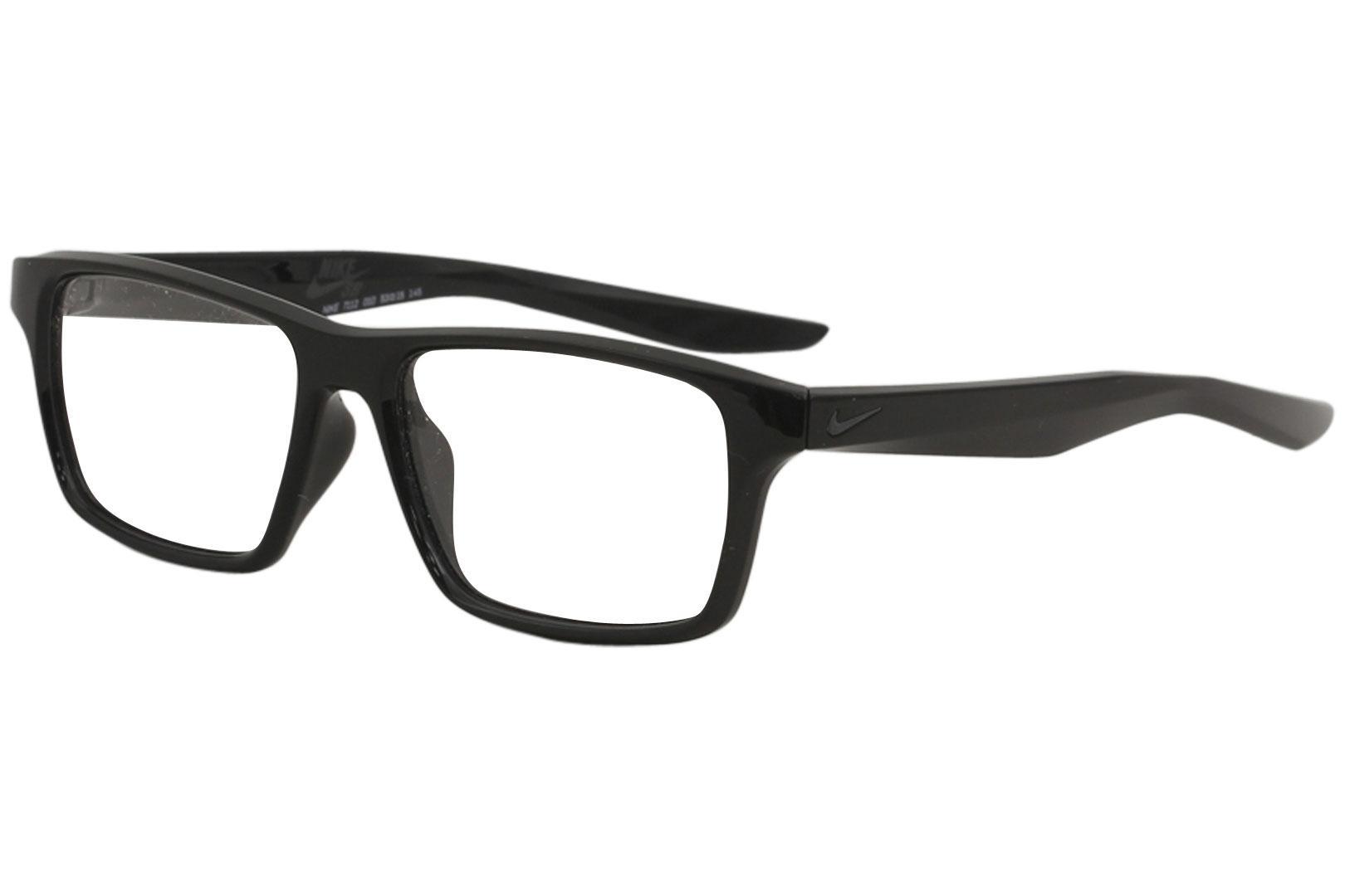 Image of Nike SB Men's Eyeglasses 7112 Full Rim Optical Frame - Black   010 - Lens 53 Bridge 15 Temple 145mm