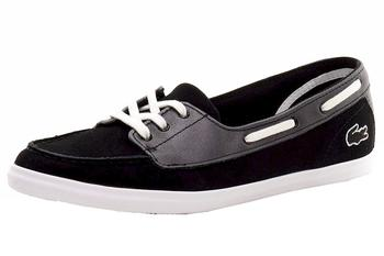 Lacoste Women's Ziane Deck 116 1 Slip-On Boat Shoes UPC:
