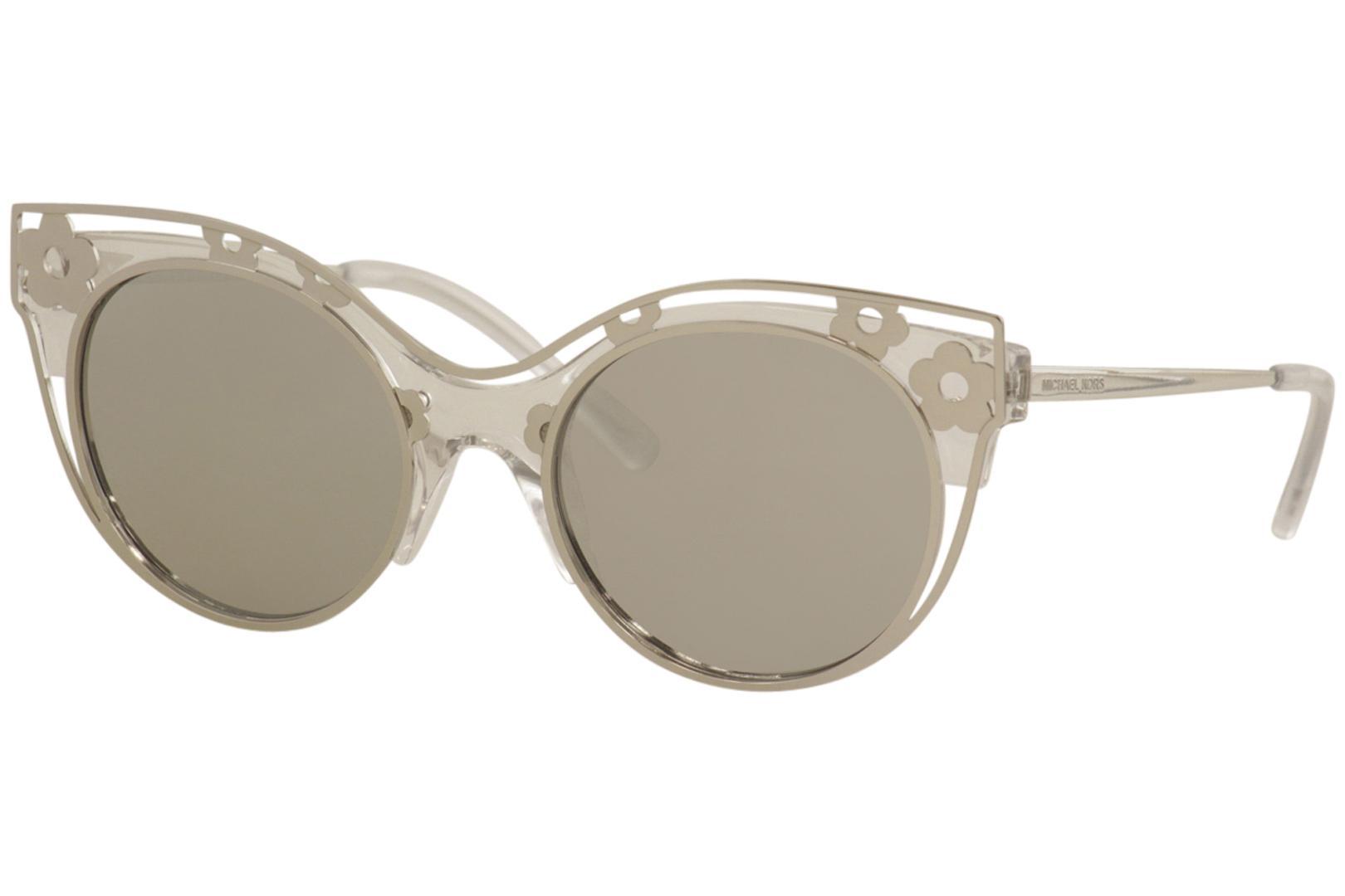 0690ab0d94af Michael Kors Women's Melbourne MK1038 MK/1038 Fashion Cat Eye Sunglasses