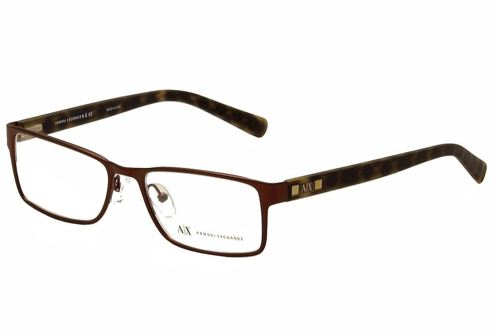 Armani Exchange Men S Eyeglasses Ax1003 Ax 1003 Full Rim Optical Frame