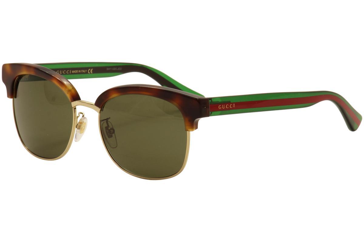 fcac22196f8 Gucci Men s GG0056S GG 0056 S Fashion Sunglasses