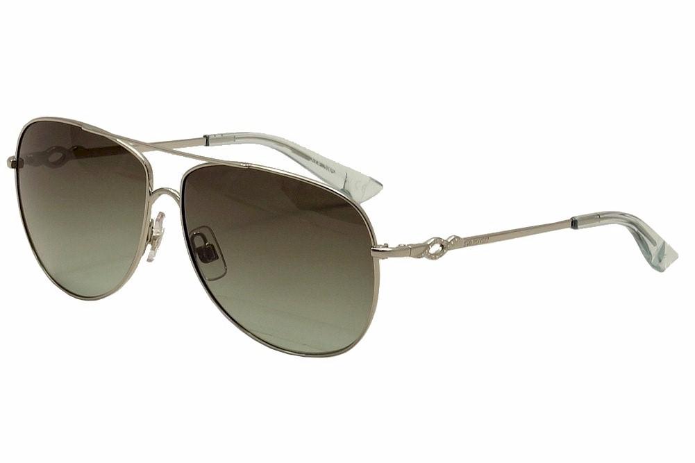 04fdc032a7c3 Daniel Swarovski Women s Finn SW0100 SW 0100 Pilot Sunglasses