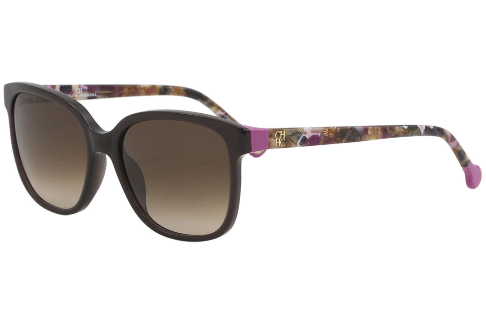 d8647af685 CH Carolina Herrera Women s SHE687 SHE 687 Fashion Square Sunglasses by Carolina  Herrera