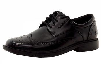 Skechers Men's Relaxed Fit Caswell Sended Lace-Up Oxfords Shoes  UPC:
