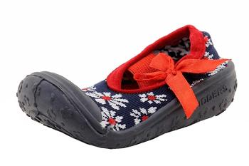 Skidders Infant Toddler Girl's Daisies Skidproof Mary Janes Shoes UPC: