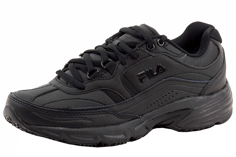 1f07014940 Fila Women's Memory Workshift Non-Skid Slip Resistant Sneakers Shoes