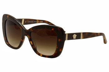 Versace Women's VE4305Q VE/4305/Q Butterfly Sunglasses  UPC: