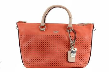 Guess Women's Juliana Satchel Handbag UPC: