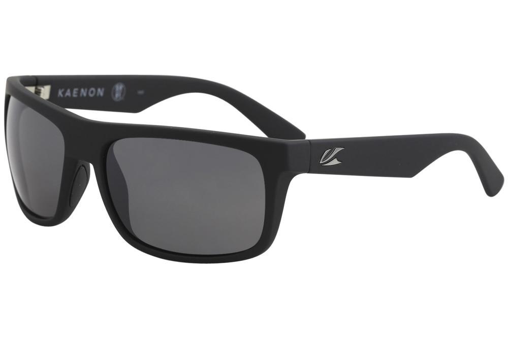 Image of Kaenon Burnet Mid Polarized Fashion Sunglasses - Black - Lens 59 Bridge 19 Temple 138mm