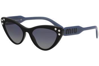 3d05e40878af Miu Miu Women s SMU05T SMU 05T Fashion Cat Eye Sunglasses by Miu Miu