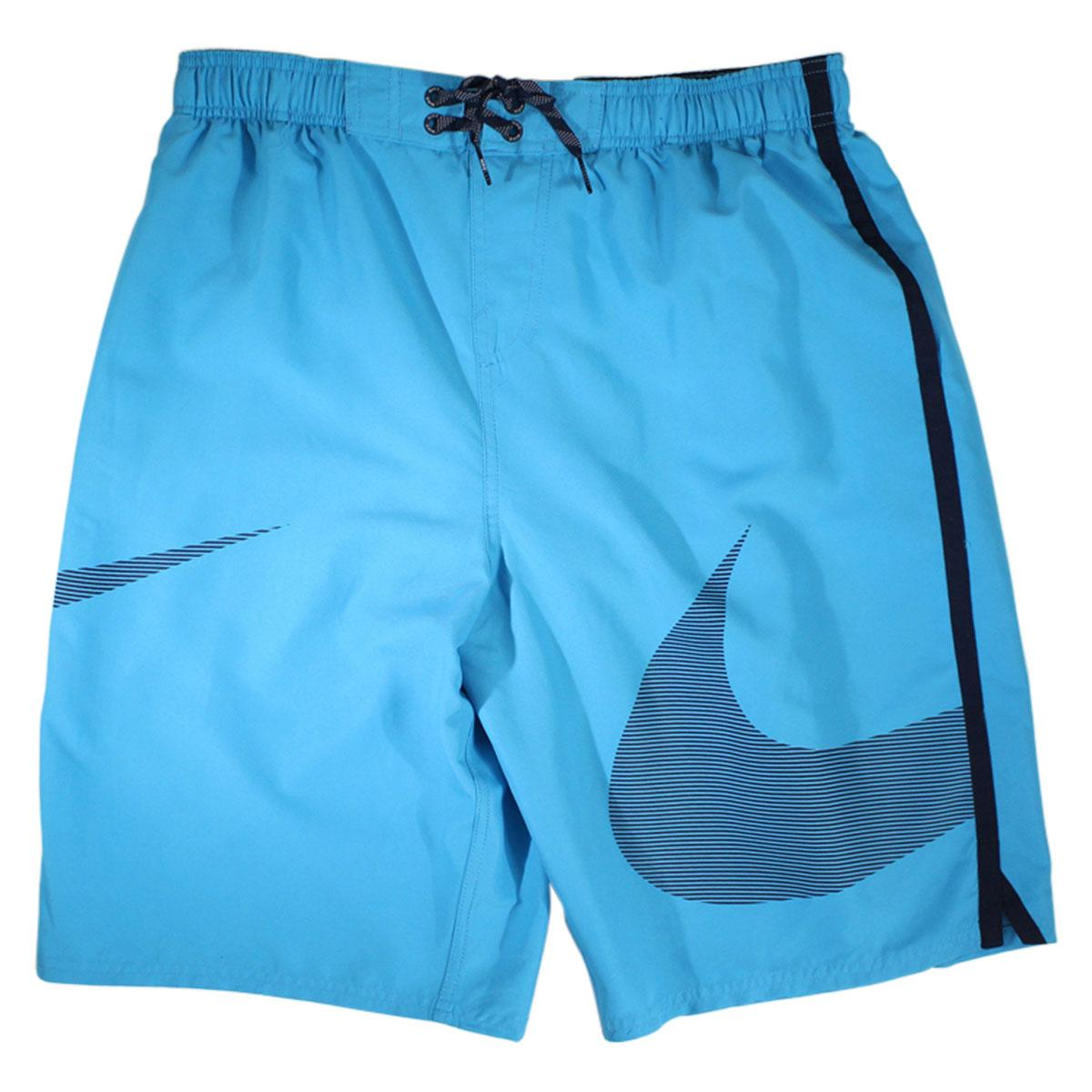 Nike Men's Macro Swoosh Diverge 11-Inch Trunks Swimwear