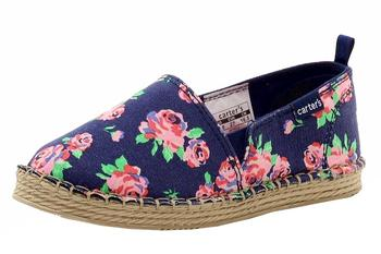 Carter's Girl's Astrid Canvas Fashion Espadrilles Flats Shoes  UPC: