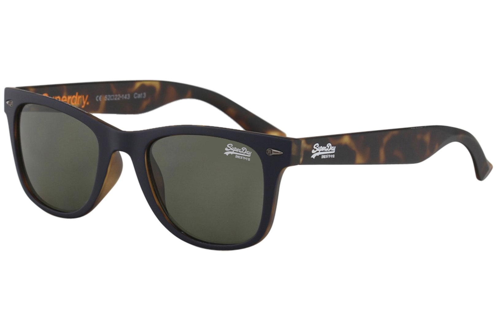 a48376ad06 Superdry Men s SDS Rookie Fashion Rectangle Sunglasses