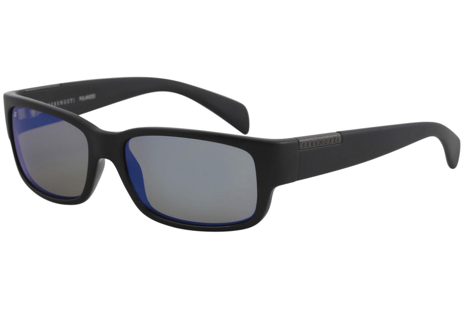 1e55f97af698 Serengeti Men s Merano Fashion Rectangle Polarized Sunglasses