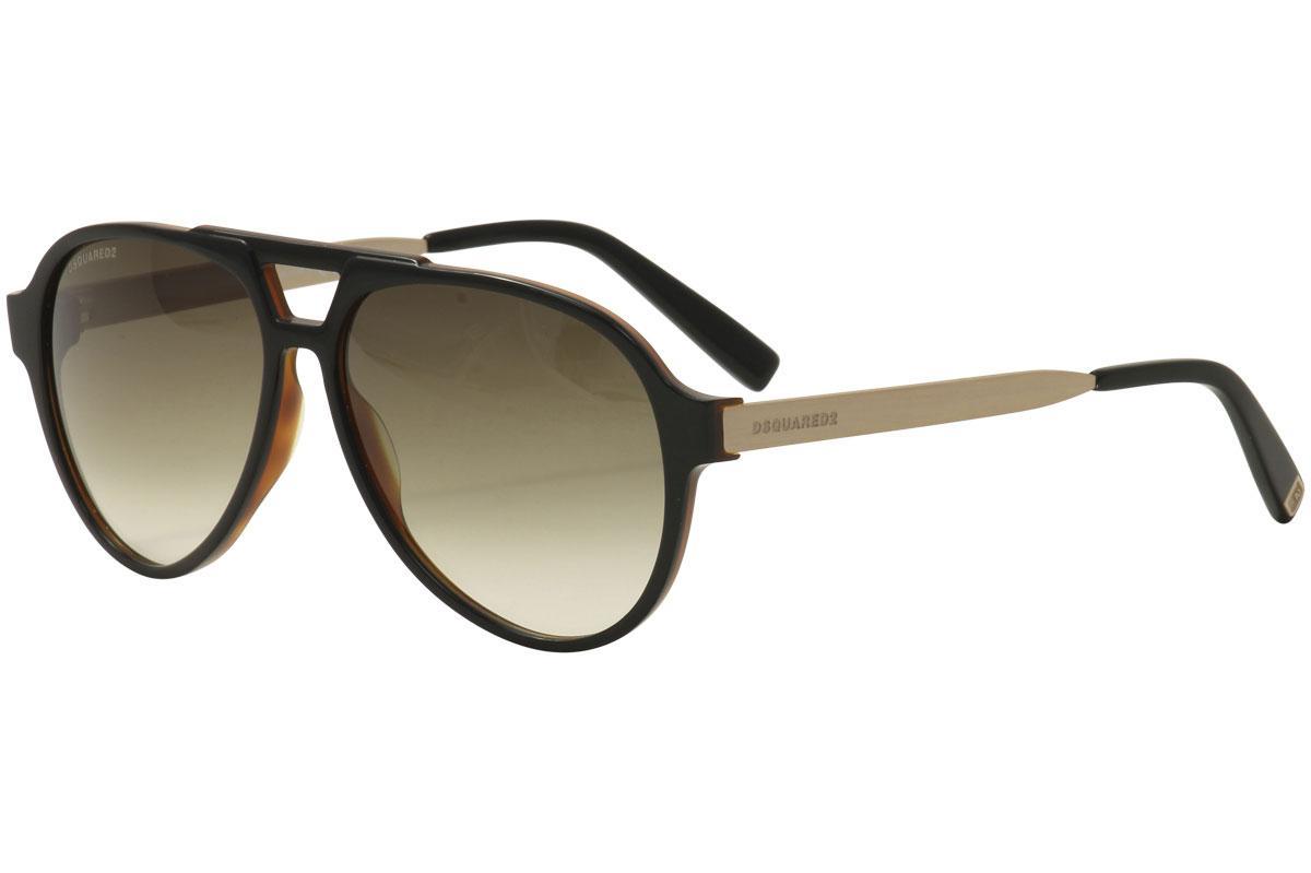 9ecccb9ac7e Dsquared2 Men s Franklin DQ204 DQ 204 Round Sunglasses