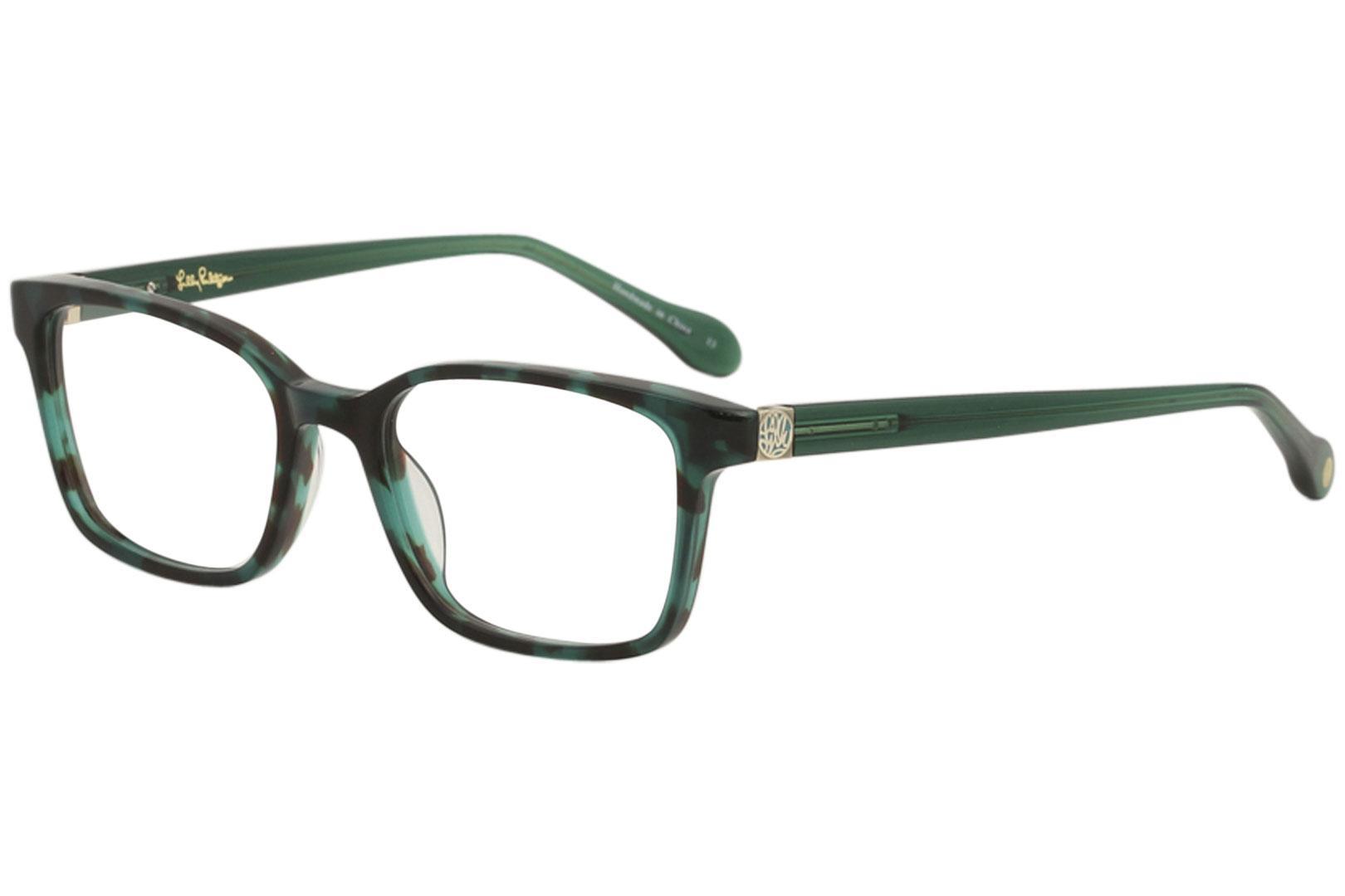 c8e327c16a Lilly Pulitzer Women S Eyeglasses Reagen Full Rim Optical Frame