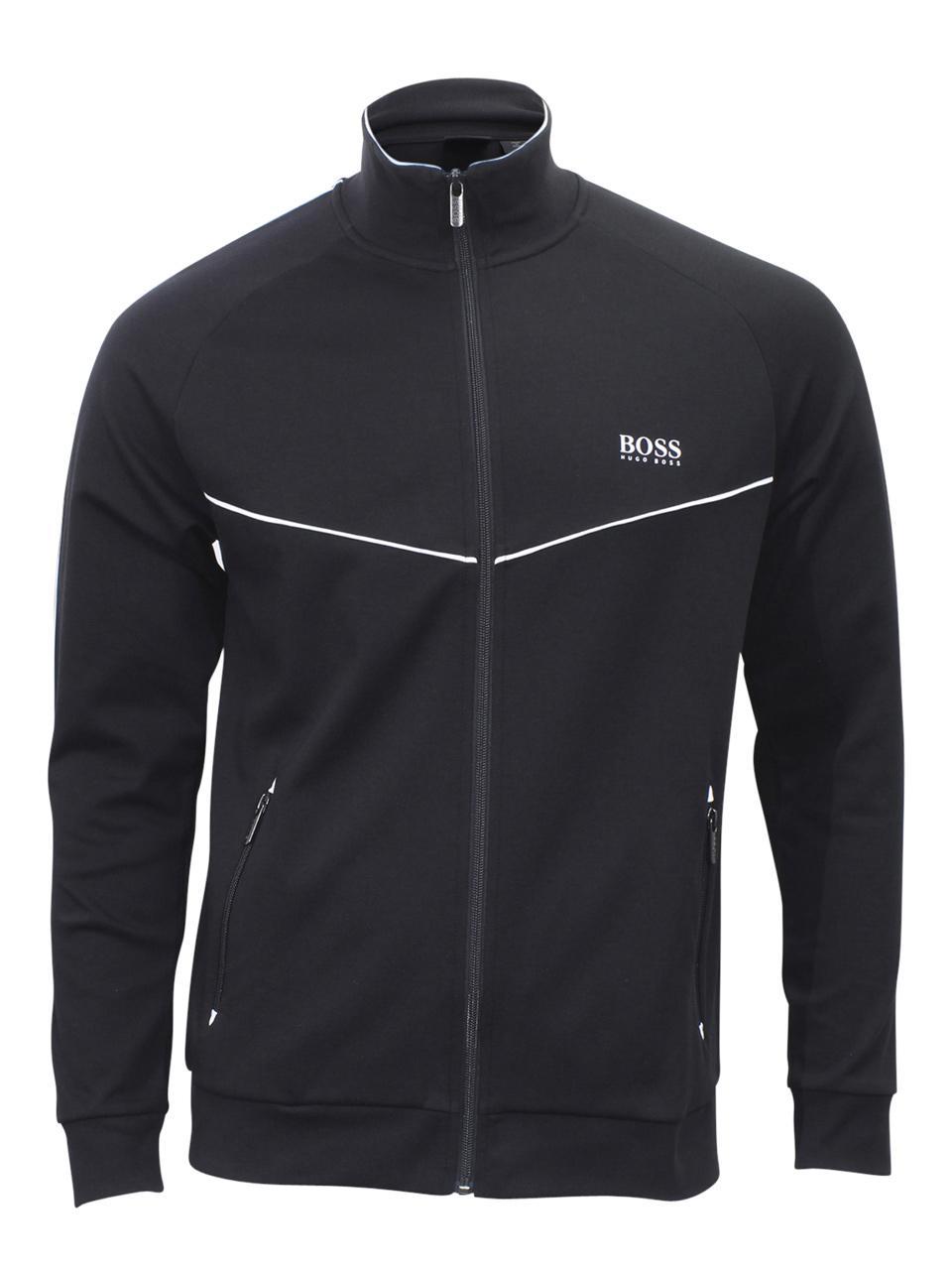 Hugo Boss Men's Pique Loungewear Tracksuit Jacket