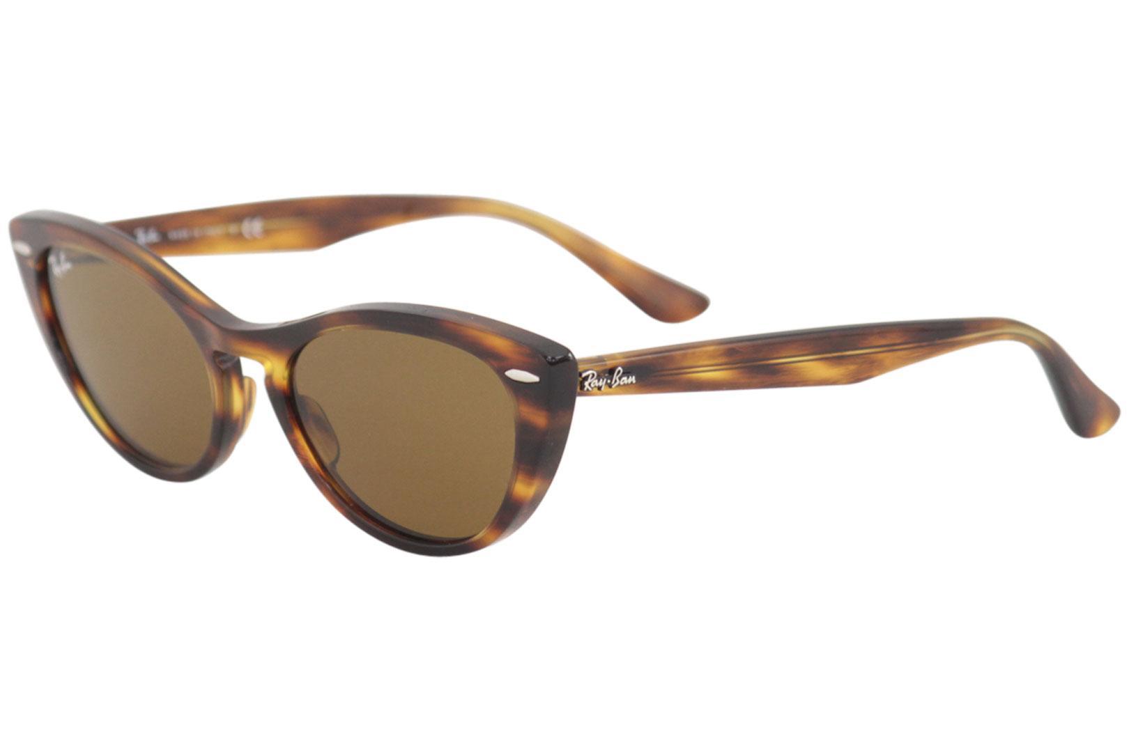 8f83dddc49 Ray Ban Women s Nina RB4314N RB 4314 N Fashion Cat Eye RayBan Sunglasses by Ray  Ban
