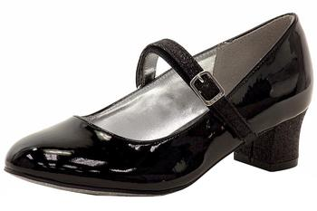 Nine West Girl's Pumped Up Glitter & Patent Leather Mary Janes Shoes  UPC: