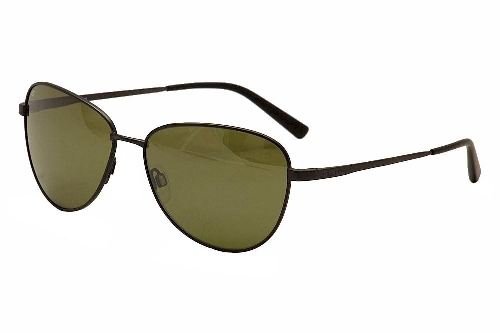 Image of Serengeti Gloria Fashion Sunglasses - Gunmetal/Black/Grey Green Pol. Photochromic   8412 - Lens 60 Bridge 15 Temple 140mm