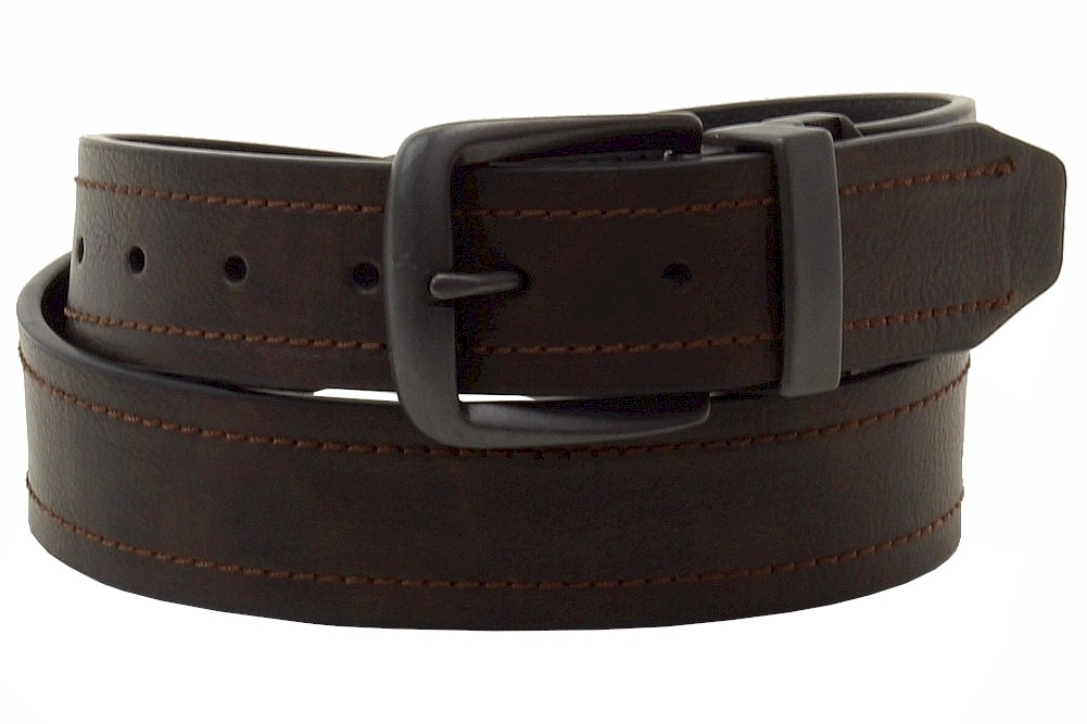 Image of Dickies Men's Reversible Belt - Brown - 34