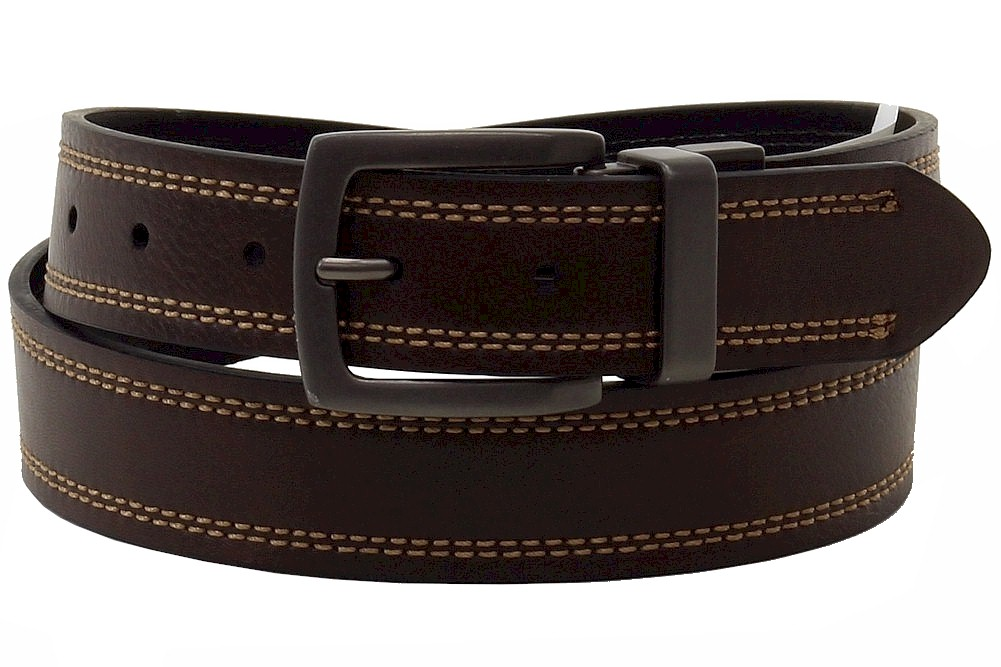 Image of Dickies Men's Reversible Belt - Brown - 32