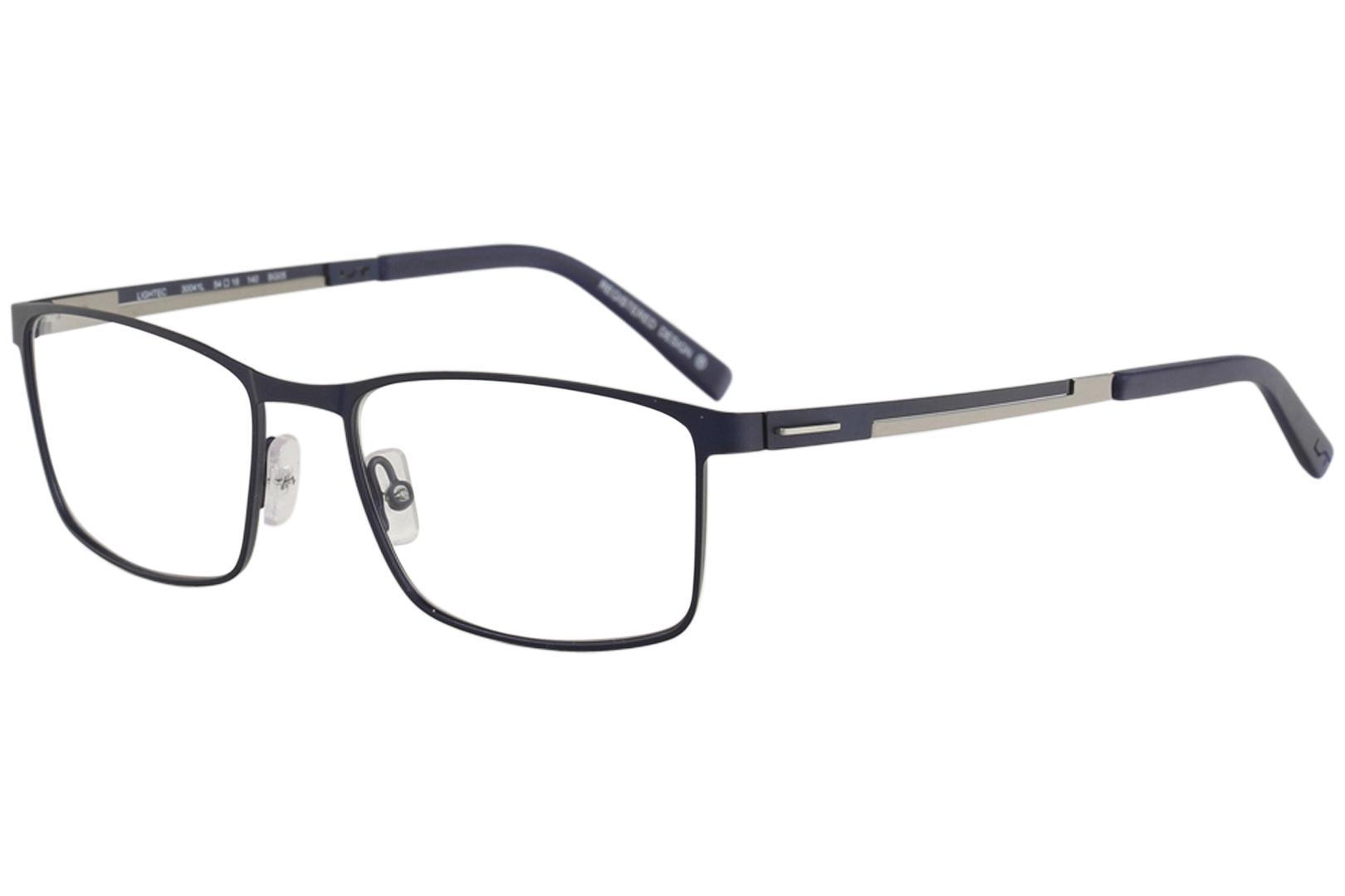 Morel Men\'s Eyeglasses Lightec 30041L 30041/L Full Rim Optical Frame
