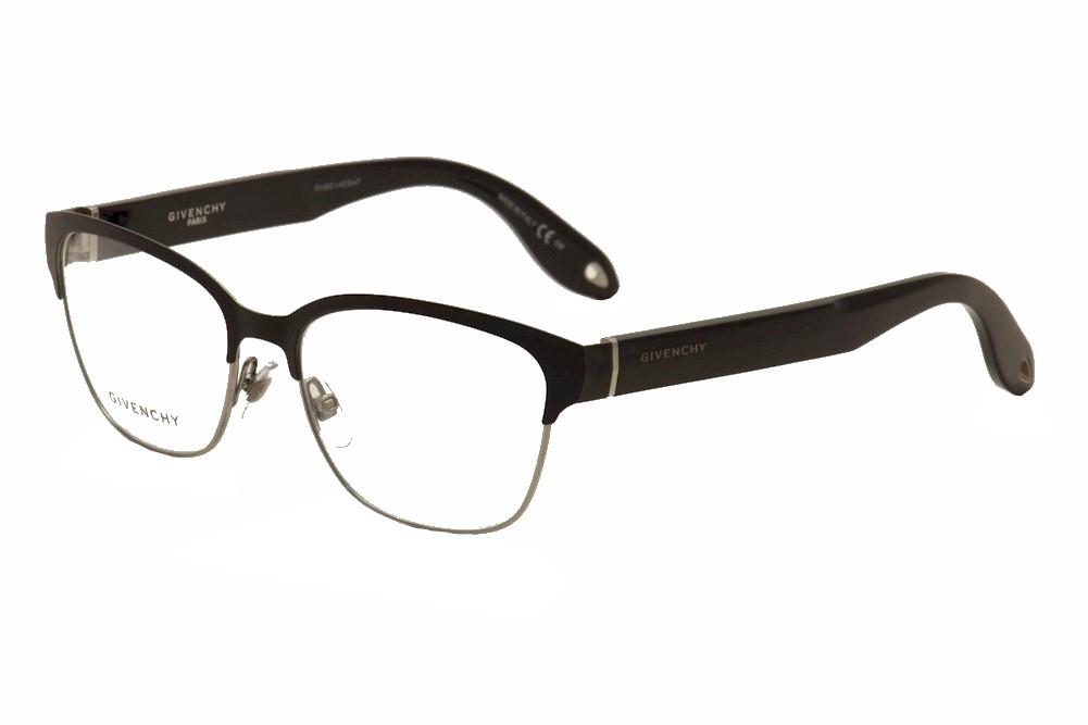 Image of Givenchy Women's Eyeglasses GV 0004 GV/0004 Full Rim Optical Frame - Black - Lens 54 Bridge 16 Temple 145mm