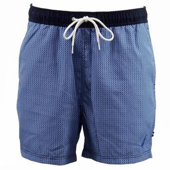 Nautica Men's Key Item Swimwear Micro-Geo Trunk Swim Shorts