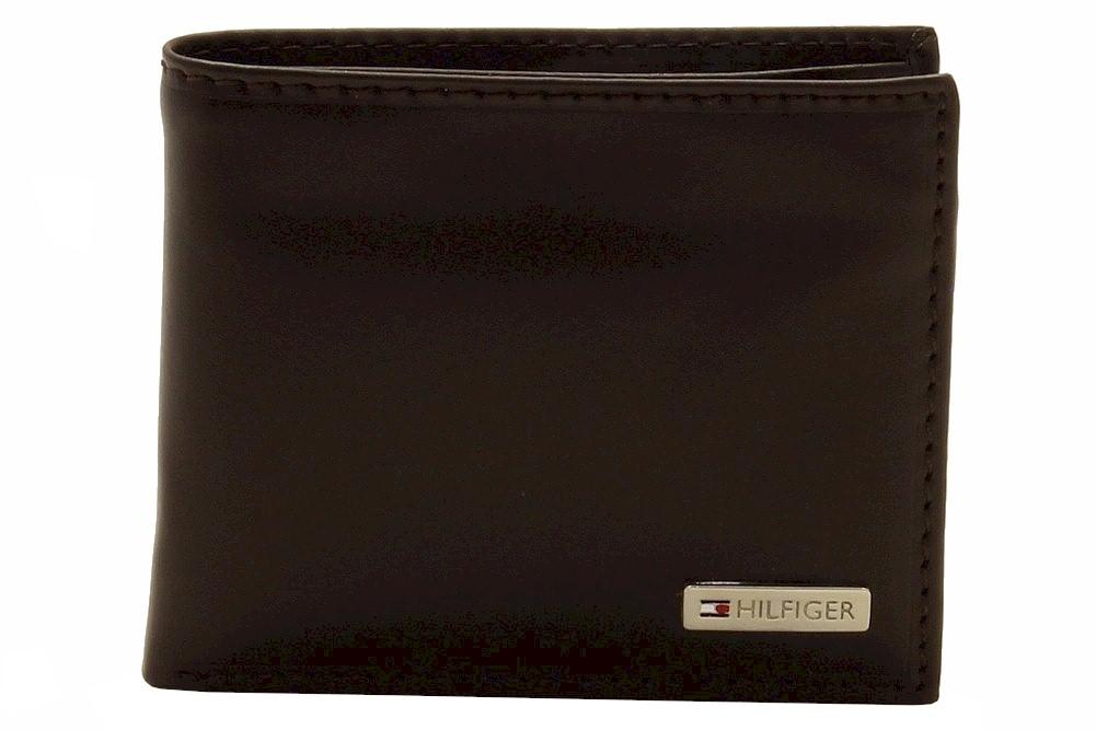 Tommy Hilfiger Men s Passcase Billfold Genuine Leather Bi Fold Wallet