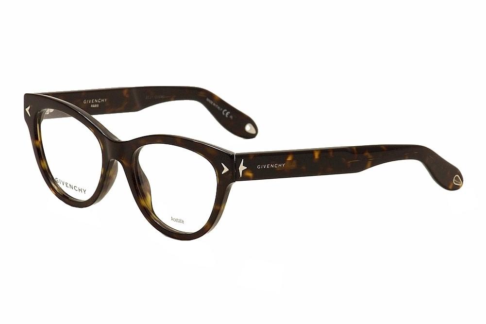 Image of Givenchy Women's Eyeglasses GV 0012 GV/0012 Cat Eye Optical Frame - Brown - Lens 50 Bridge 18 Temple 148mm