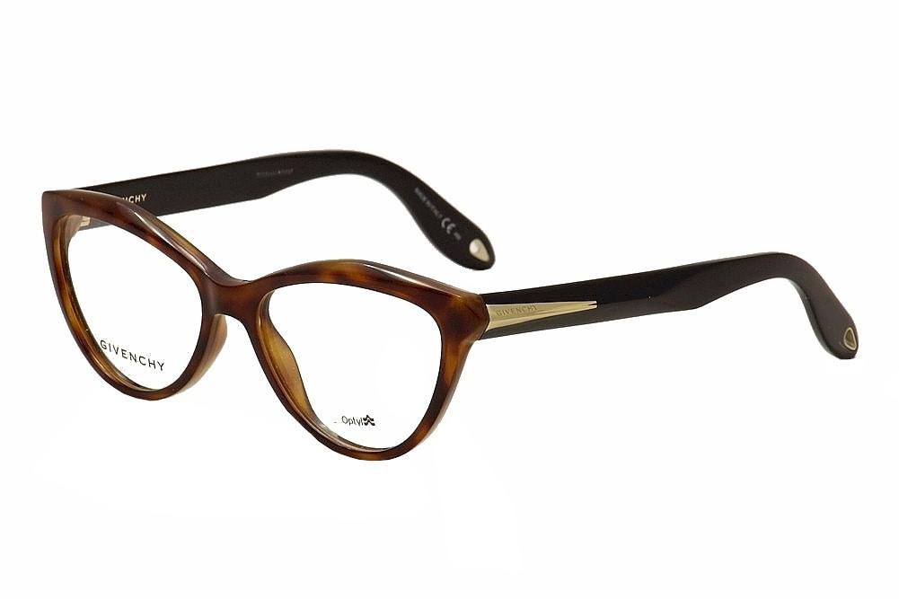 Image of Givenchy Women's Eyeglasses GV 0009 GV/0009 Full Rim Optical Frame - Brown - Lens 52 Bridge 16 Temple 145mm