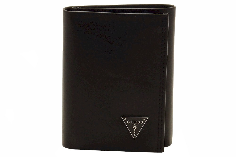 Guess Men s Credit Card Genuine Leather Tri-Fold Wallet 779d2b518e