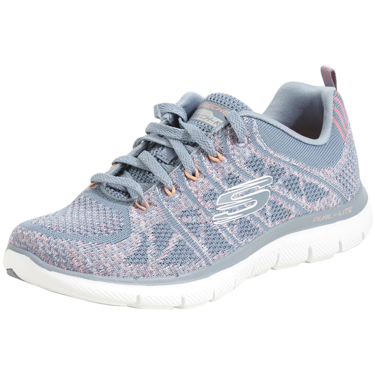 8748c1c8b1b Skechers Women s Flex-Appeal-2.0 New Gem Memory Foam Sneakers Shoes