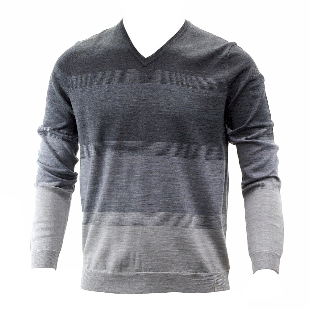 Calvin Klein Men s Dressy Refined V Neck Long Sleeve Sweater Dressy Refined; 40QS330