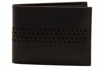 Guess Men's Ryder Passcase Genuine Leather Bi-Fold Wallet  UPC: