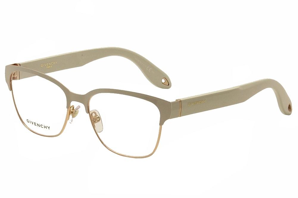 Image of Givenchy Women's Eyeglasses GV 0004 GV/0004 Full Rim Optical Frame - Beige - Lens 54 Bridge 16 Temple 145mm