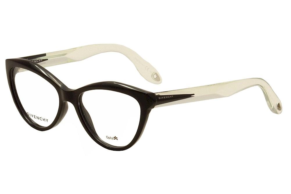 Image of Givenchy Women's Eyeglasses GV 0009 GV/0009 Full Rim Optical Frame - Black - Lens 52 Bridge 16 Temple 145mm