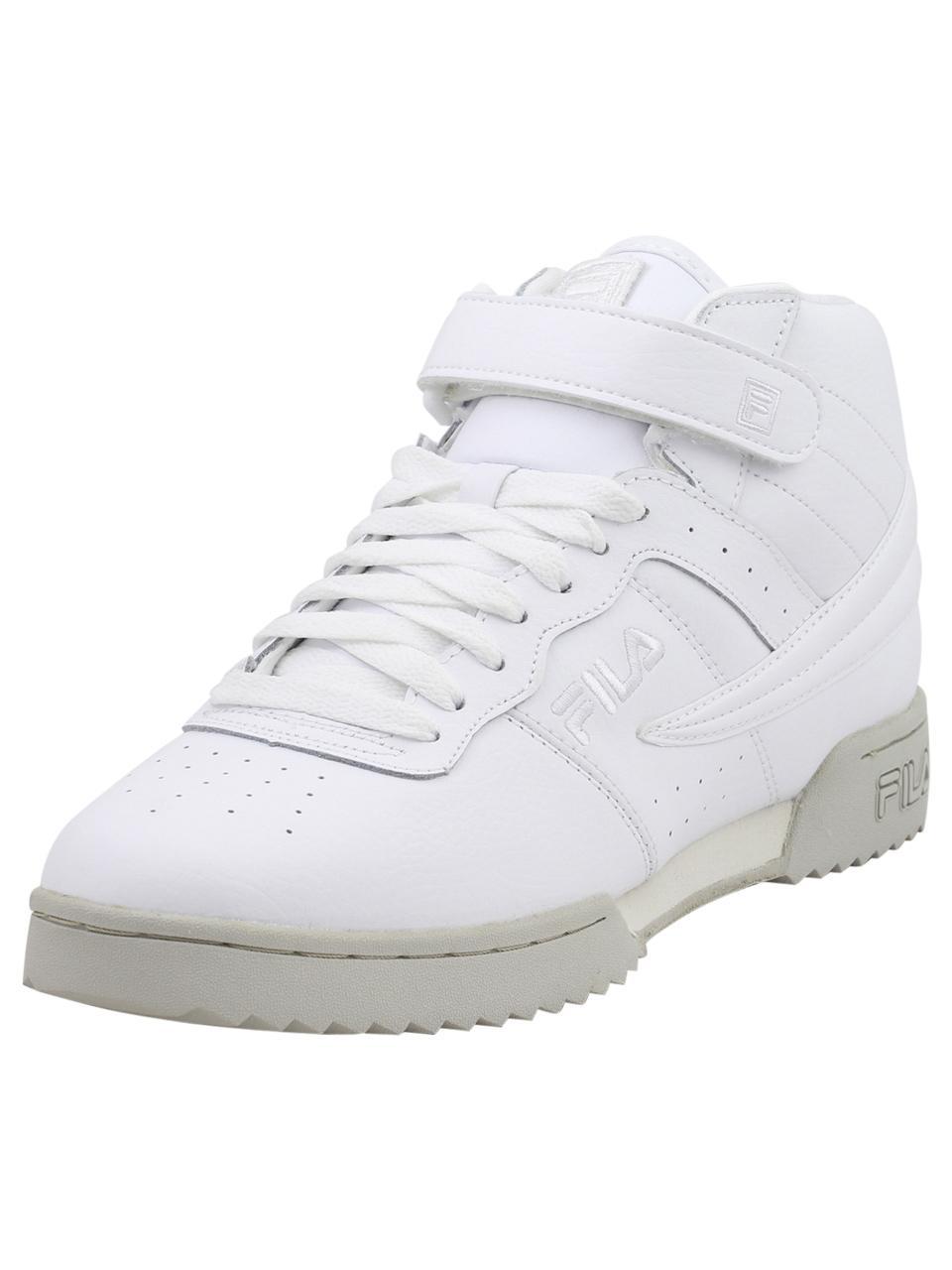 47af76201c2f Fila Men s F-13-Ripple High Top Sneakers Shoes