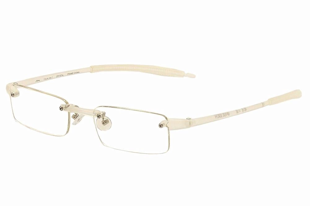 Image of VisuaLites Eyeglasses Vis1 Rimless Reading Glasses - Clear - +1.00