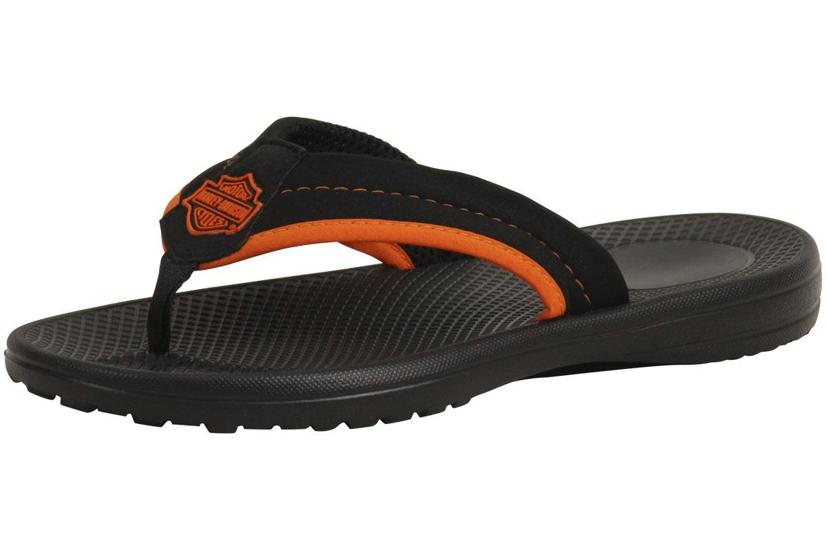 147828300061f2 Harley Davidson Men s Banks Thong Flip-Flops Sandals Shoes