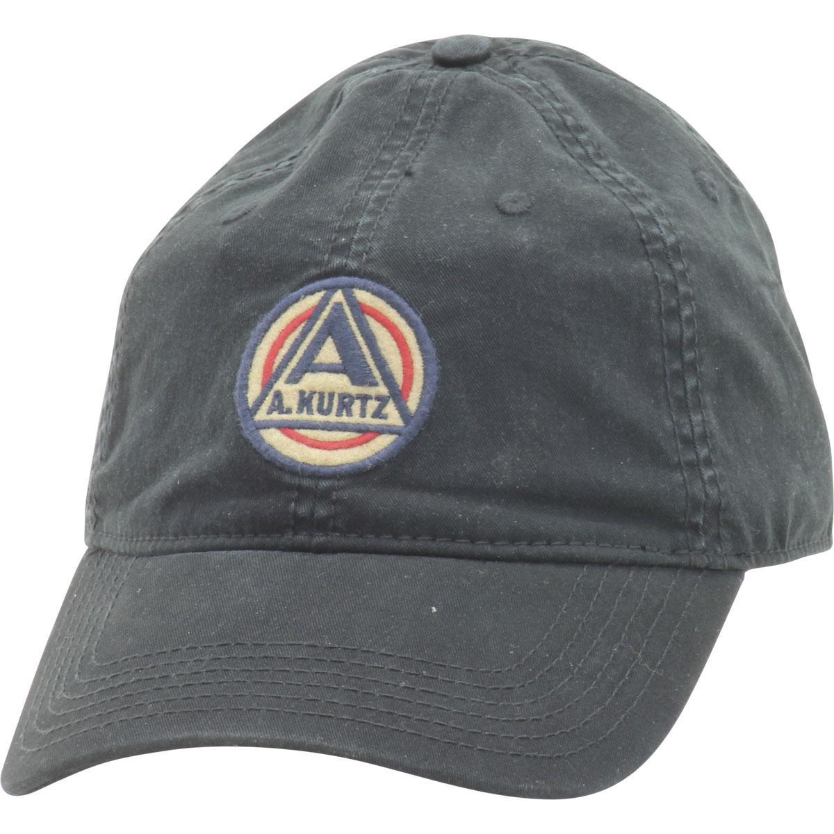 Image of Kurtz Men's AKurtz Patch Flex Baseball Cap Hat - Black - One Size Fits Most