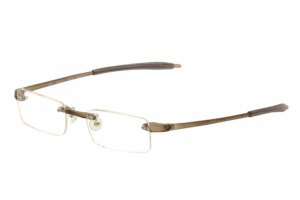 Image of VisuaLites Eyeglasses Vis1 Rimless Reading Glasses - Grey - +1.50