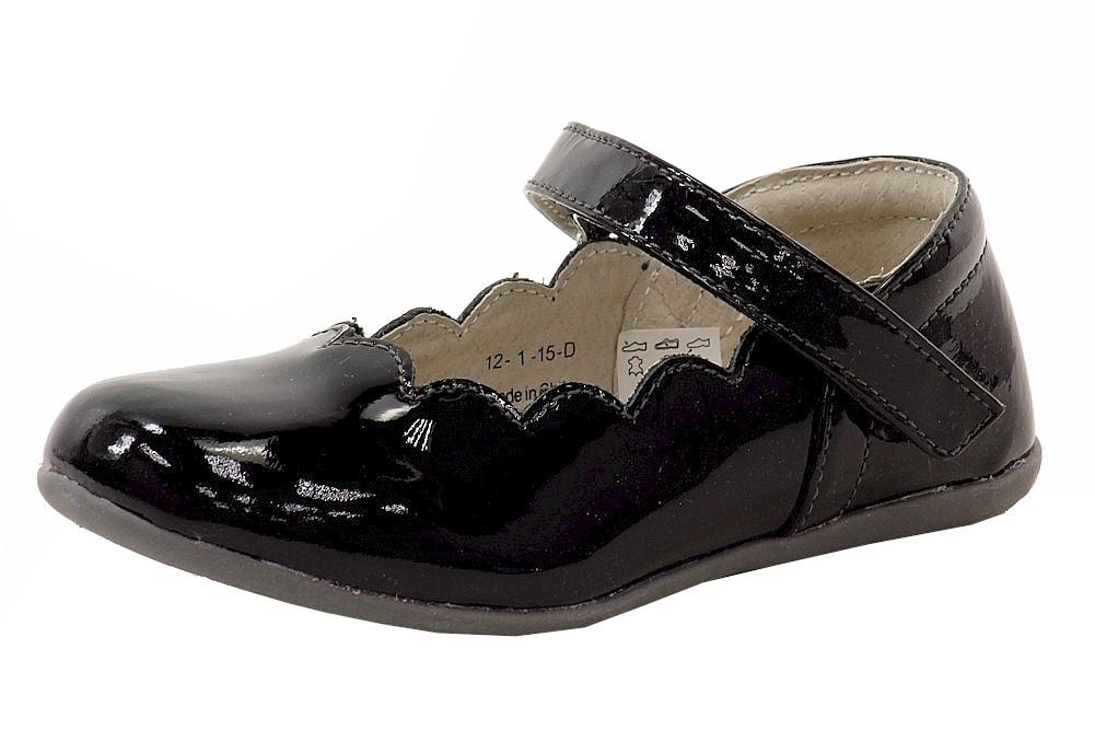 Image of See Kai Run Girl's Savannah Fashion Mary Janes Shoes - Black - 10 M US Toddler