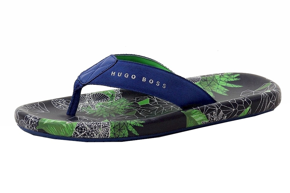 7418f50a3280 Hugo Boss Men s Shoreline Sunshine Fashion Flip Flops Sandals Shoes