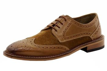 Giorgio Brutini Men's Roan Wingtip Oxfords Shoes  UPC: