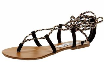 Steve Madden Women's Werkit Fashion Ankle Lace-Up Sandals Shoes  UPC: